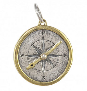 Seaward Compass Sun's Disc Necklace