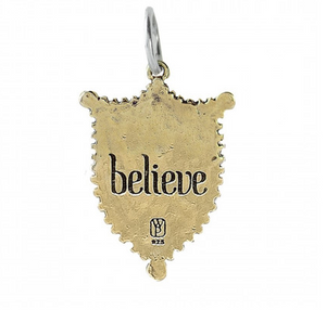 Lyric & Lore Charm - Believe Fairy