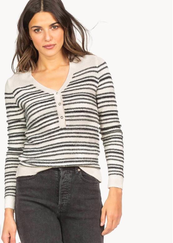 Long Sleeve Henely Sweater