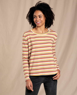 Maisey Long Sleeve Swing Crew