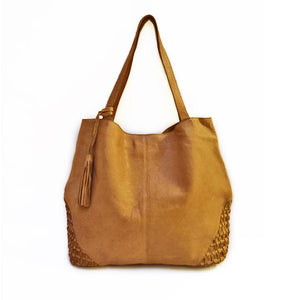 Weekender Leather Tote
