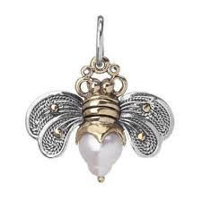Bee Brave Honeypearl Charm