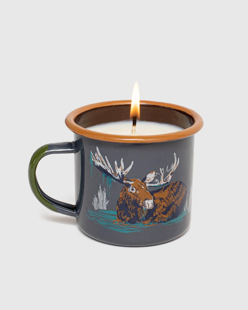 Morning Dip Enamel Candle Mug