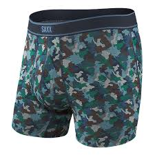 Daytripper Men's Boxer Brief - Blue Mini Camo