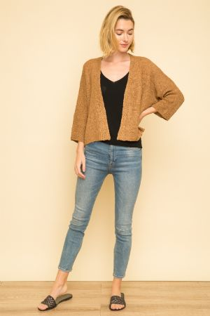 Crop Boxy Cardigan