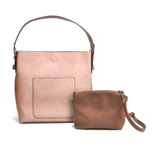 Pocket Hobo with Removable Crossbody