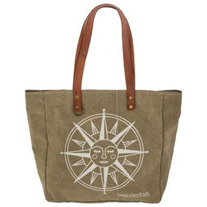 Stone Washed Canvas Totes