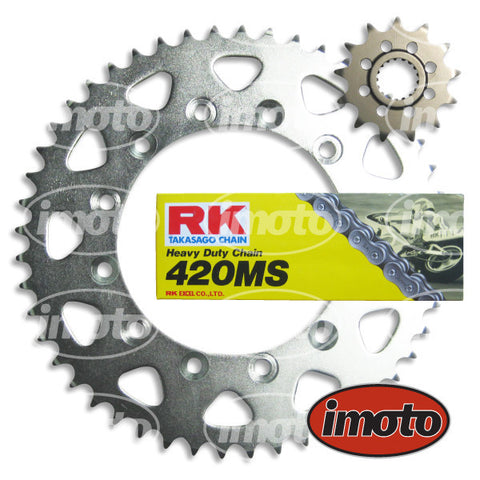 Chain & Sprocket Kit HONDA CRF70 2004-2013