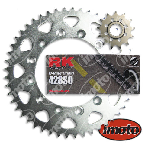 Chain & Sprocket Kit HONDA CBR250 R MC19 ALL 17/54