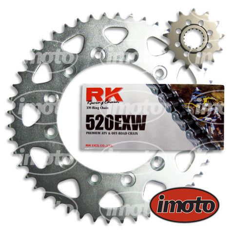 Chain & Sprocket Kit HONDA CR500 1988-2002 X-RING