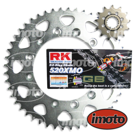 Chain & Sprocket Kit HONDA CR250 1988-2011 X-RING