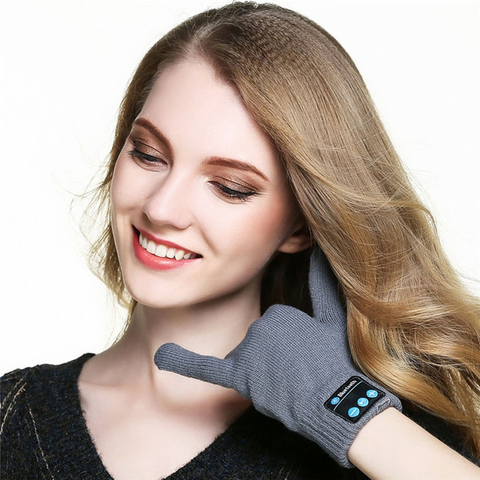 GearSupermart:Secret Agent Bluetooth Gloves