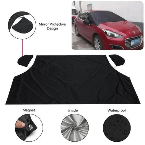 Magnetic Anti Snow Windshield Guard  and Side Mirror Cover