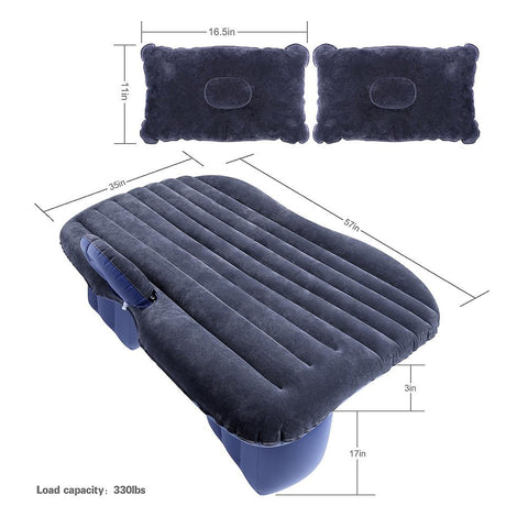 GearSupermart:Car Inflatable Mattress with Air Pump