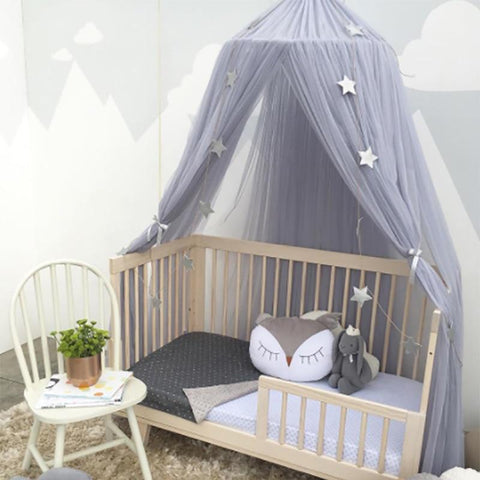 GearSupermart:Girls Round Bed Canopies