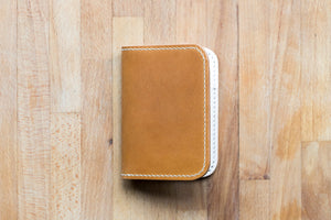 Monk Made x Worn & Wound Minimalist Bifold - Whiskey
