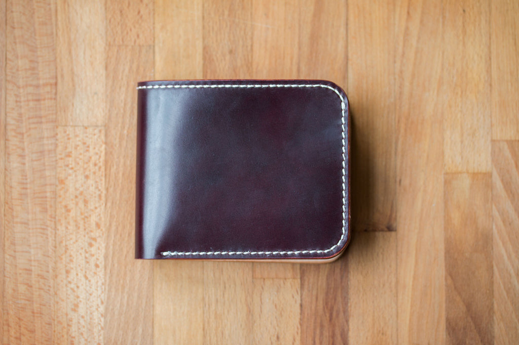 Monk Made x w&w Wallet - Burgundy