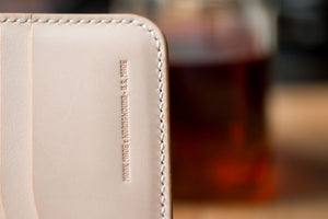 Monk Made x Worn & Wound Wallet - Whiskey
