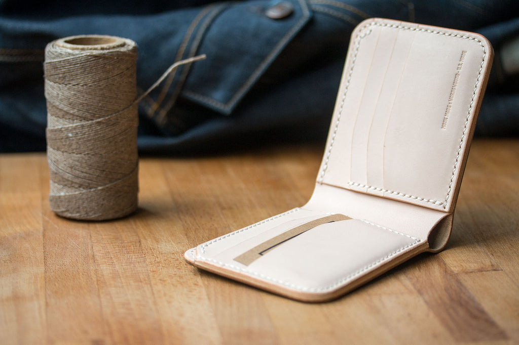 Monk Made x worn&wound Wallet - Whiskey