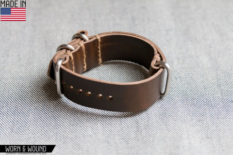 Mil-Strap Horween - Moss