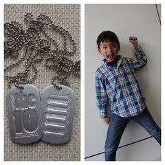 The 10 COMMANDMENTS Memory Dogtag