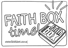 Faith Box time! Poster