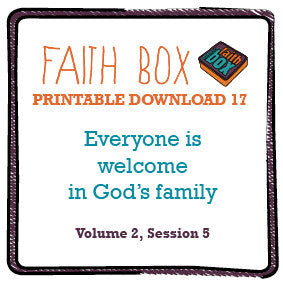 #17 - Everyone is welcome in God's family