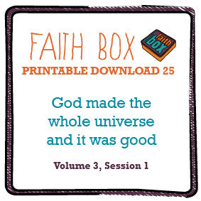 #25 - God made the whole universe: and it was good