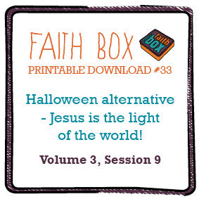 #33 - Halloween alternative - Jesus is the light of the world!