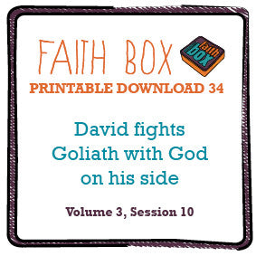 #34 - David fights Goliath - with God on his side