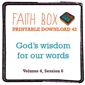 #42 - God's wisdom for our words