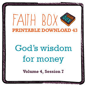 #43 - God's wisdom for money