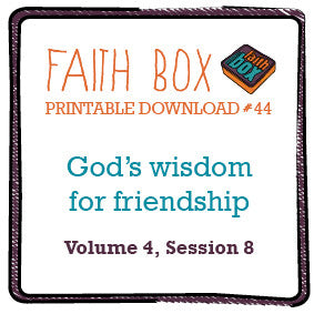 #44 - God's wisdom on friendship