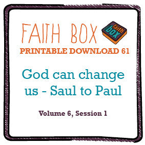 #61 - God can change us - Saul to Paul transformed!