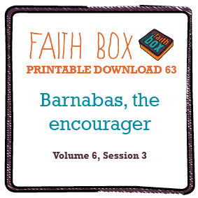 #63 - Barnabas, the Encourager