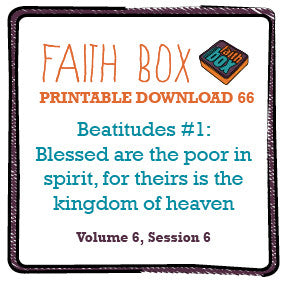 #66 - Beatitudes #1: Blessed are the poor in spirit, for theirs is the kingdom of heaven