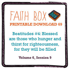 #69 - Beatitudes #4: Blessed are those who hunger and thirst for righteousness, for they will be filled