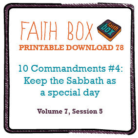 #78 - 10 Commandments #4: Keep the Sabbath as a special day