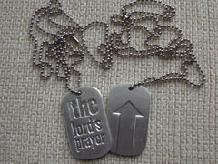 The LORD'S PRAYER Memory Dogtag
