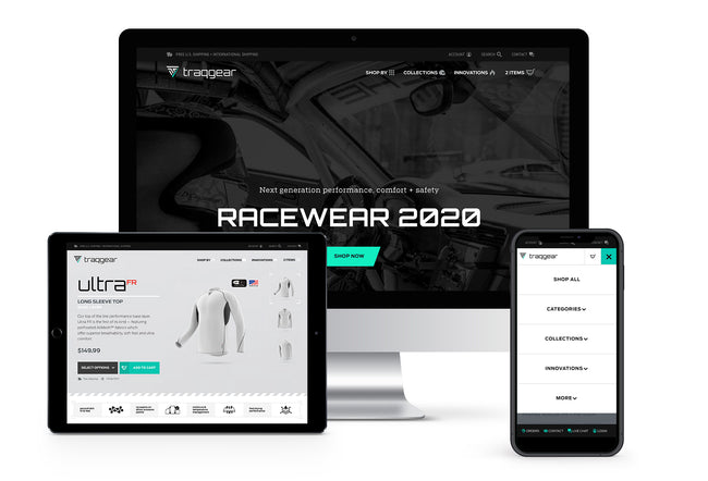 TraqGear Racing Innovations 2020
