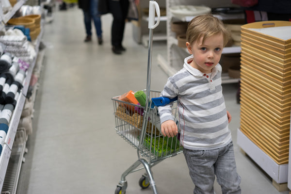 How To Shop At IKEA With Kids