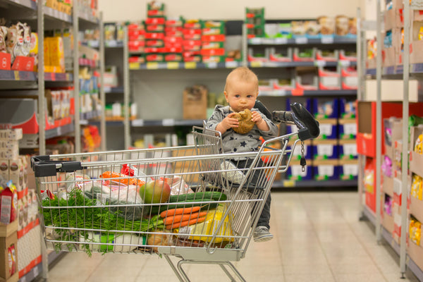 When Can You Put A Baby In A Shopping Cart?