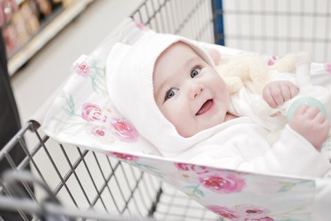 Safety Tips for Using Binxy Baby Shopping Cart Hammocks
