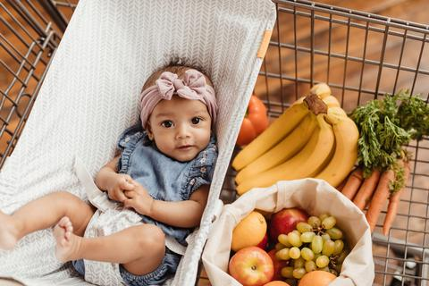Can I Put a Baby's Car Seat in the Shopping Cart?
