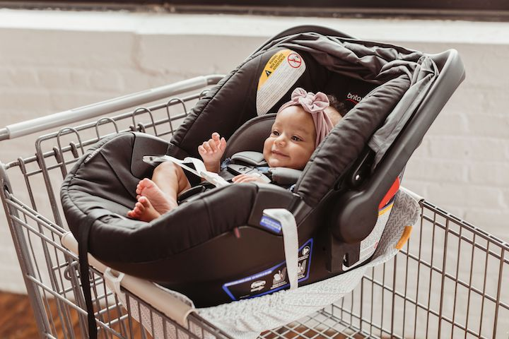 Car Seat 101: How to Keep Baby Safe in a Shopping Cart