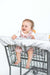 Baby Shopping Cart Cover - Little Arrows Design - happy baby