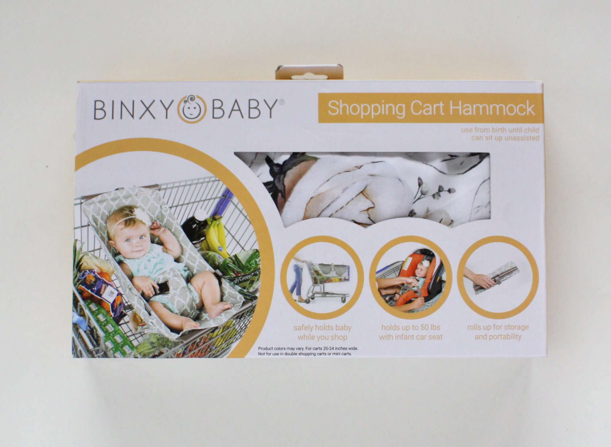 SHOPPING CART HAMMOCK Triangles Binxy Baby