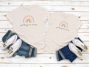 Rainbow Mommy and Me T-Shirt