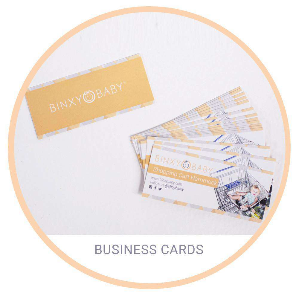 Extra Business Cards - Binxy Baby