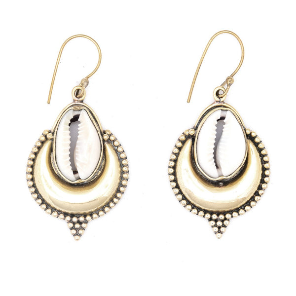 Brass Banjara earrings - Celeste Twikler